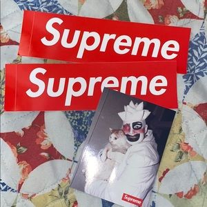 New Supreme New York (3) stickers *Leigh Bowery*